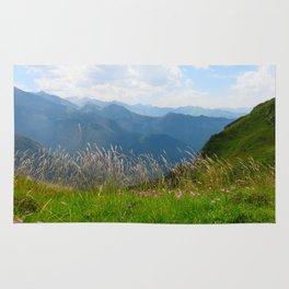 Mountain flowers Rug