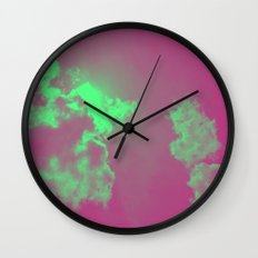 Radiant Clouds Wall Clock