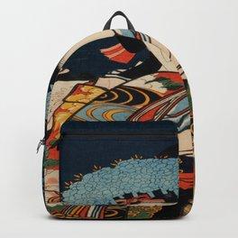 Geisha Traditional Japanese Character Backpack