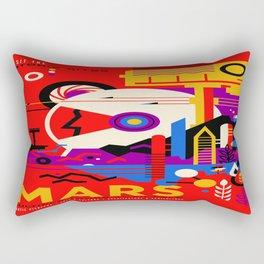 Mars Tour : Galaxy Space Rectangular Pillow