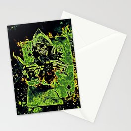 Reaper Of Aces Stationery Cards