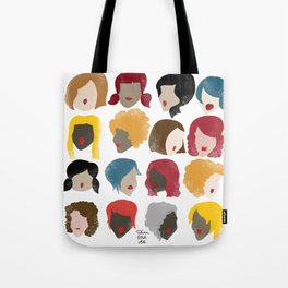Harry the Hairdresser Tote Bag