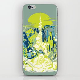 Smash! Zap!! Zooom!! - Annoying Kidd iPhone Skin