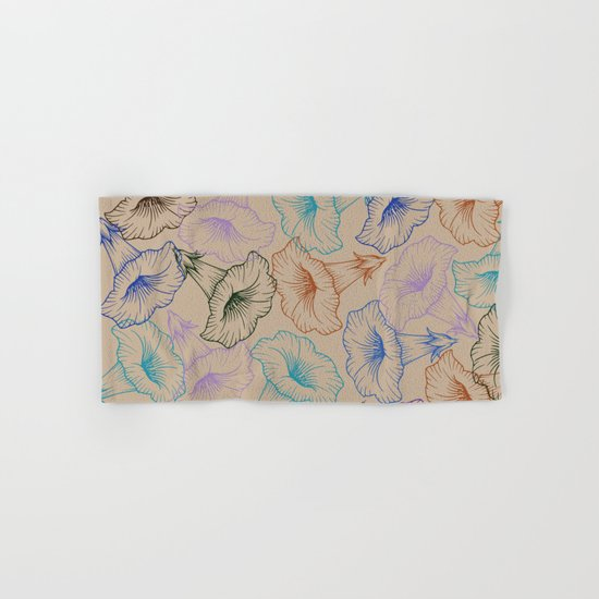 floral pattern 1 Hand & Bath Towel