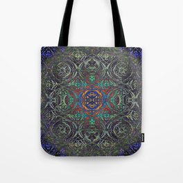 Ironwork Psychedelic Tote Bag