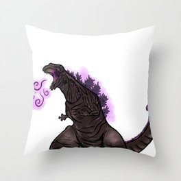 Shin Godzilla Throw Pillow