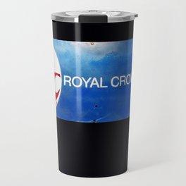 R C Royal Crown Cola Travel Mug