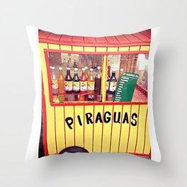 Piraguas Throw Pillow