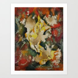 Cave Dweller Two Art Print