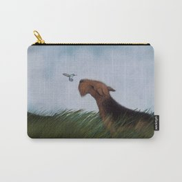 Look What the Wind Blew In! Carry-All Pouch