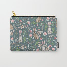 Cute rabbits Carry-All Pouch