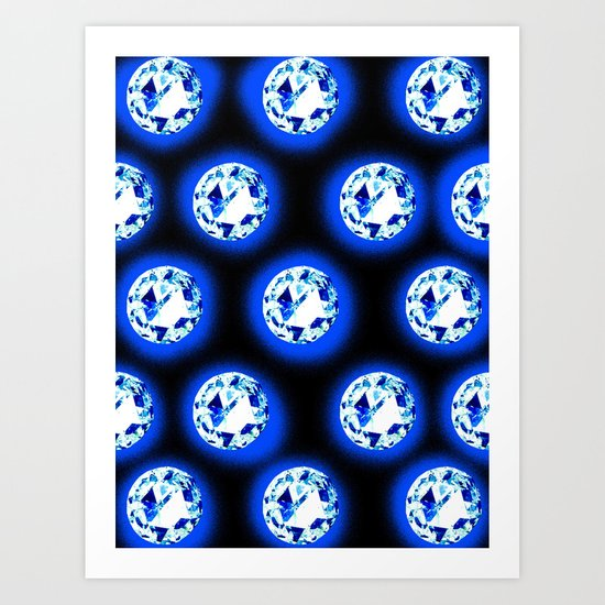 crystalizing _visionz Art Print
