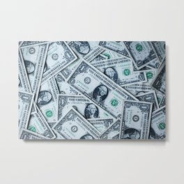 Mo money Metal Print