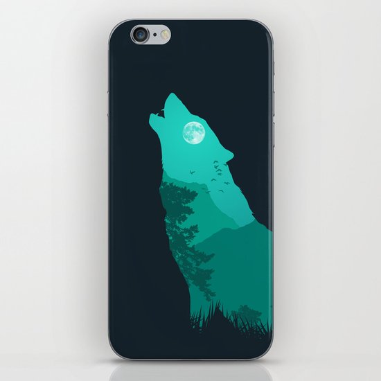 The Sound Of Nature iPhone Skin