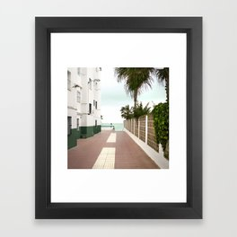 Road to the Beach - Landscape Photography Framed Art Print