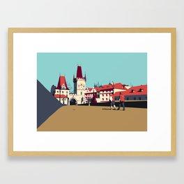 Charles Bridge Framed Art Print