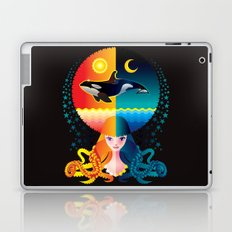 Dream - Sea Day & Night Laptop & iPad Skin