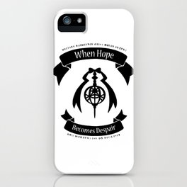 "Madoka Magica - ""When Hope Becomes Despair"" Ver.1 iPhone Case"