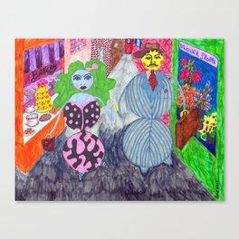 Lois & Arnold Roundabout Canvas Print