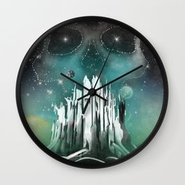 Expansion Volume VI Poster Wall Clock