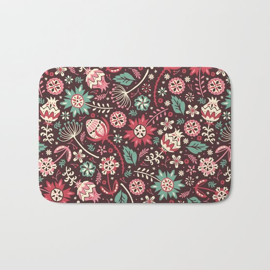 Wallflowers Bath Mat