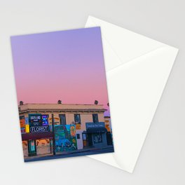 Highland Park at 6AM Stationery Cards