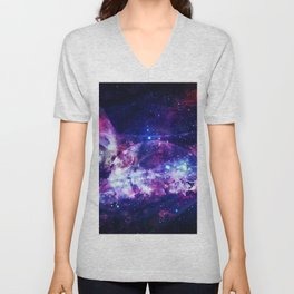 Shadows in the space Unisex V-Neck