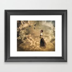Walk in the Clouds Framed Art Print