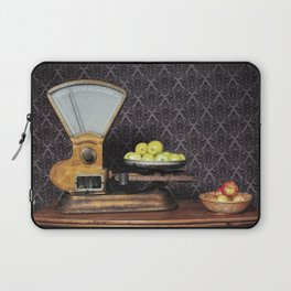 Apples on the Scale Laptop Sleeve