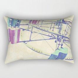 Nice Day for a Ferris Wheel Ride ... Rectangular Pillow