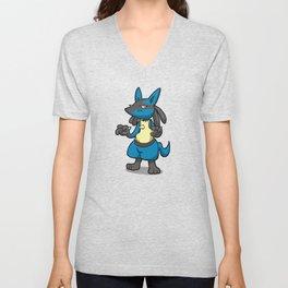 Pokémon - Number 448! Unisex V-Neck