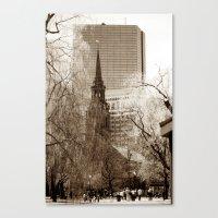 boston Canvas Prints featuring Boston by Raymond Earley