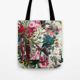 FLORAL AND BIRDS XXII Tote Bag