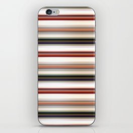 Horizontal Lines iPhone Skin