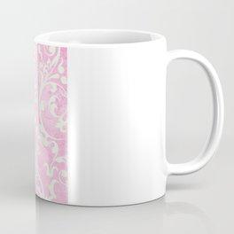 Shabby Chic pink damask Coffee Mug