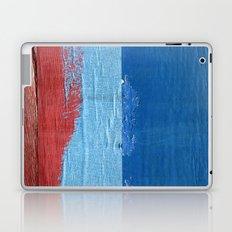Blue Blue Red Laptop & iPad Skin
