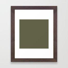 Terrarium Moss 616247 Framed Art Print