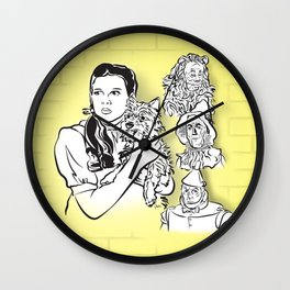 Face The Ozzies Wall Clock