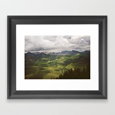 Where I Belong Framed Art Print