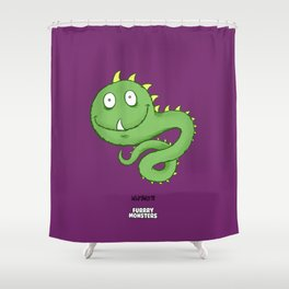 Whipilworm Shower Curtain
