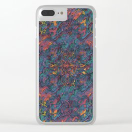 Glitching It (No. 2) Clear iPhone Case