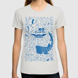 Say NO to Plastic T-shirt