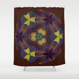 Piranha 17 Shower Curtain