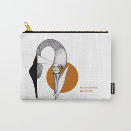 Shoe Swan Carry-All Pouch