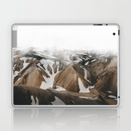 Iceland Snow and Mountains Laptop & iPad Skin