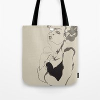 coco Tote Bags featuring coco by Līva