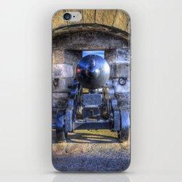 Cannon Edinburgh Castle iPhone Skin