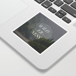WILDERNESS — Sticker