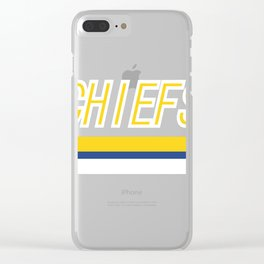 Charlestown Chiefs Clear iPhone Case