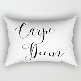 Carpe Diem Minimalist Art Print Rectangular Pillow